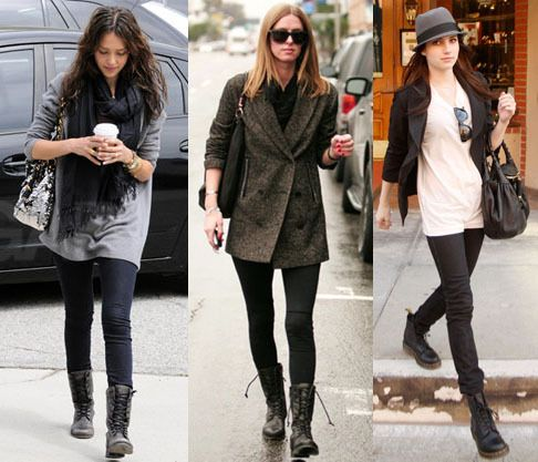 Combat boots outfits | Combat boot outfits, Military boots outfit .
