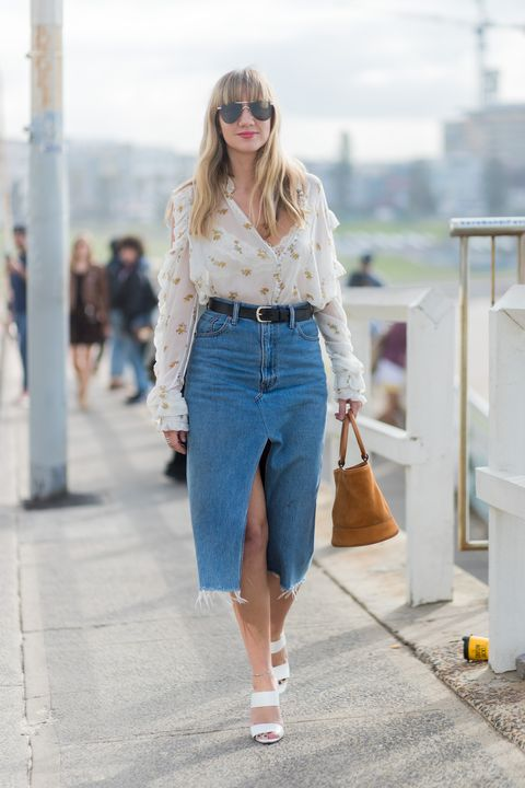 10 Midi Skirt Styles for Spring 2016 - Ways to Wear a Midi Ski