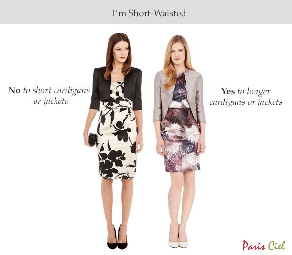 how to dress if you are short waisted - Google Search | Short girl .