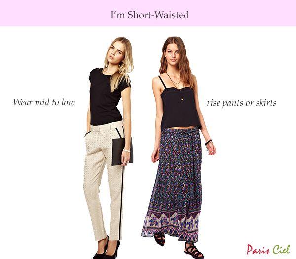 Tips & Tricks to Dressing Short-Waisted Body Type ← Paris Ciel .