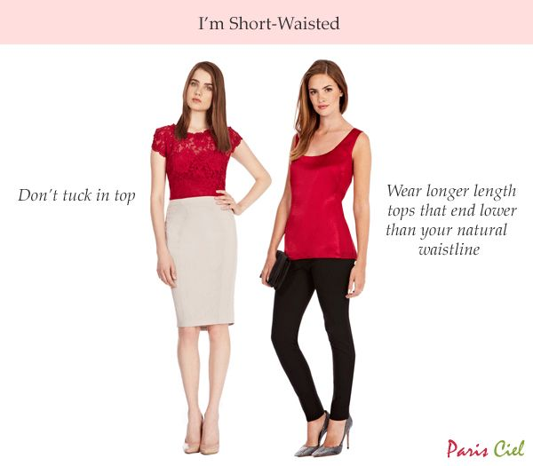 Kleid für kurze Taille | Short legs long torso, Short torso .