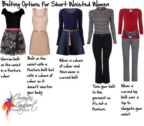 How to Solve the Belting Dilemmas for Short Waisted Wom