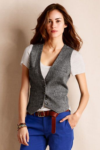 Idea Not-for-Sale, Probably a men's vest tailored to fit a woman .
