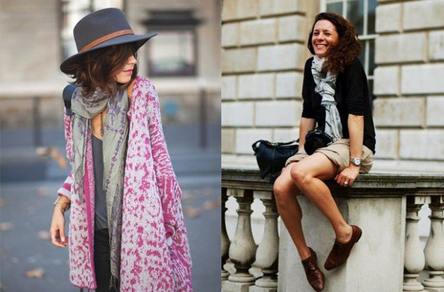Outfits with Scarves-18 Chic Ways to Wear Scarves for Gir