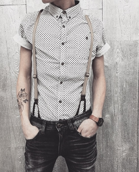 How To Wear Suspenders With Jeans For Men - 30 Male Fashion Styl
