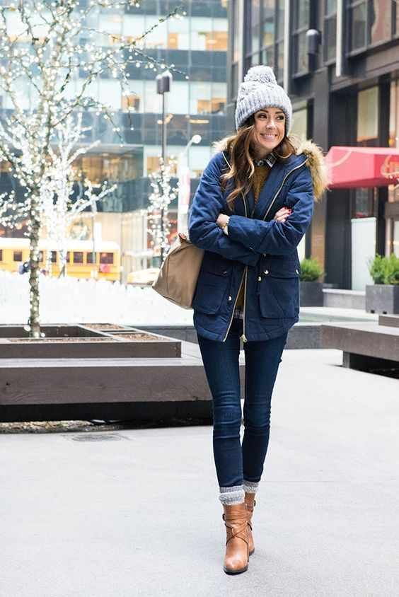 47+ Cute Winter Outfits [That Are Chic And Warm] | Casual winter .