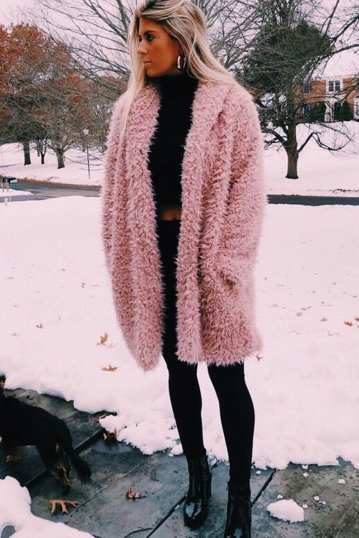 Women Winter Jacket Coat Faux Fur Teddy Bear Coat in 2020   Casual .