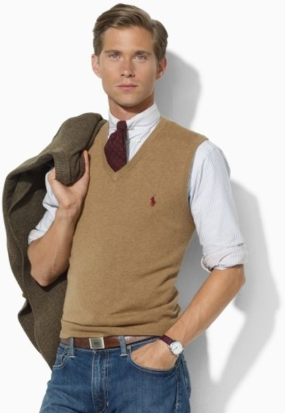 sweater vest men - Google Search | Mens outfits, Sweater vest outf