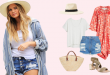Celebrity Beach Outfit Ideas - What to Wear to the Bea