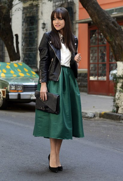 13 Beautiful Taffeta Skirt Outfit Ideas: Ultimate Style Guide .