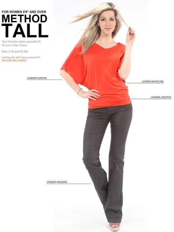 Style Tips For Tall Women | Tall women fashion, Clothing for tall .