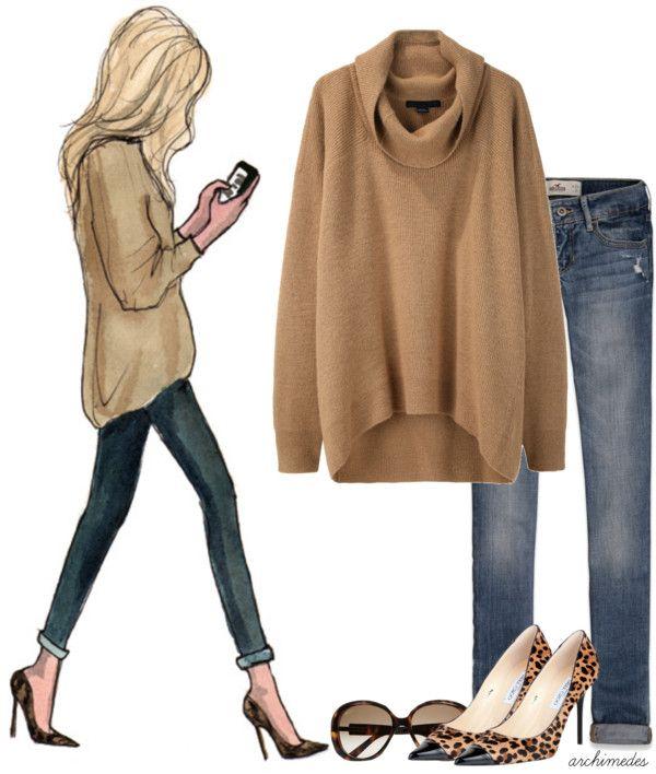 Sketch Artist: Casual Day | Fashion, Autumn fashion, Fall winter .