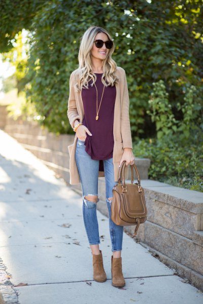 How to Wear Tan Sweater: Best 15 Artistic & Cozy Outfit Ideas for .