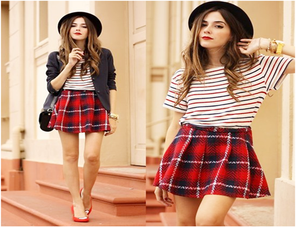 25 Plaid Skirt Outfit Ideas To Copy Right N