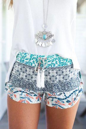 Erin Drawstring Tassel Shorts | Fashion, Fashion boutique, Online .