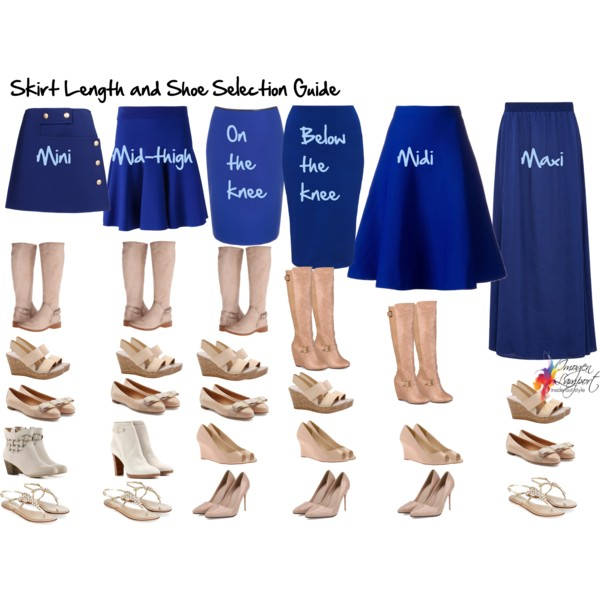 Your Essential Skirt Length and Shoe Selection Guide - Inside Out .