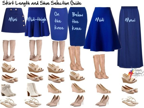 Your Essential Skirt Length and Shoe Selection Guide | Fashion .