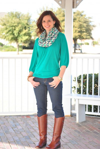 How to Wear Teal Shirt: 15 Feminine Outfit Ideas for Ladies - FMag.c