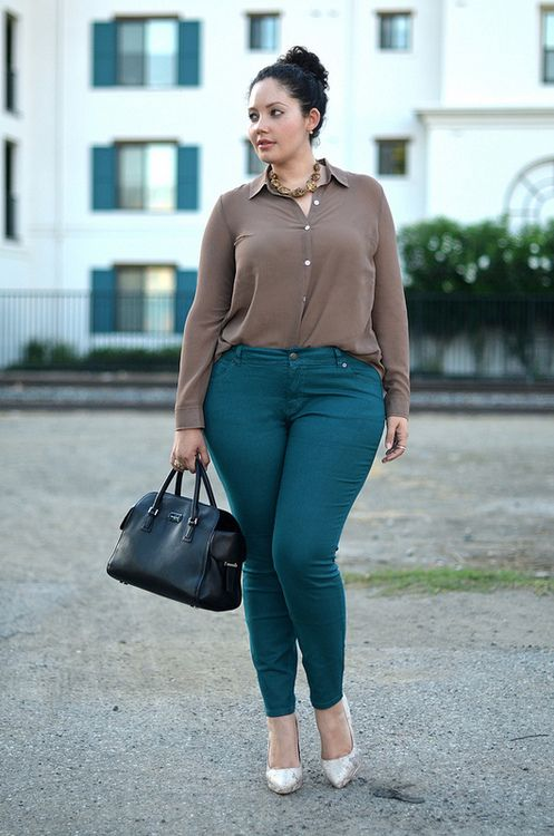 Deep Teal & Python | Fashion, Curvy girl fashion, Plus size outfi