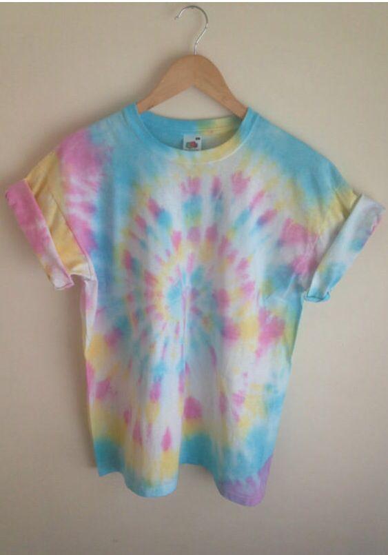 Love the colors / tie dye / pastel tie dye / light tie dye .