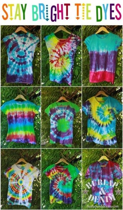 Tie Dyes-secrets revealed, mystery solved to get those vibrant .