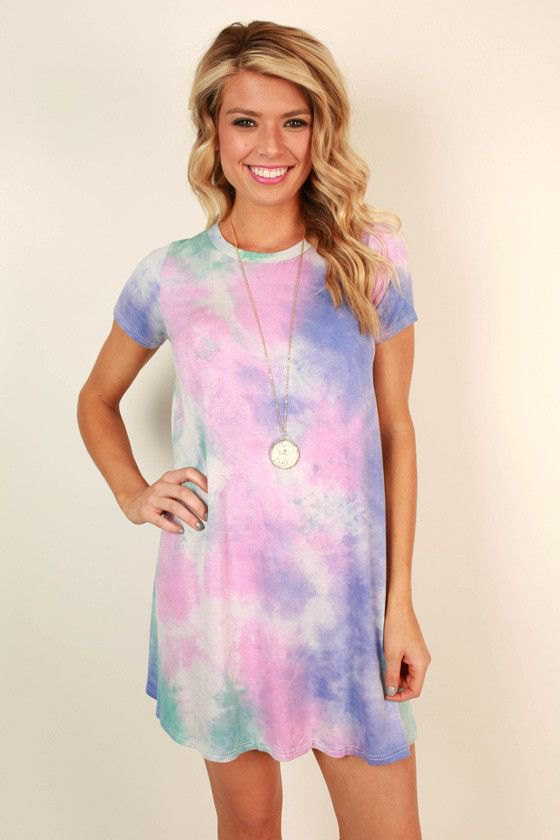 How to Wear Tie Dye Dress: Best 15 Colorful & Artistic Outfit .