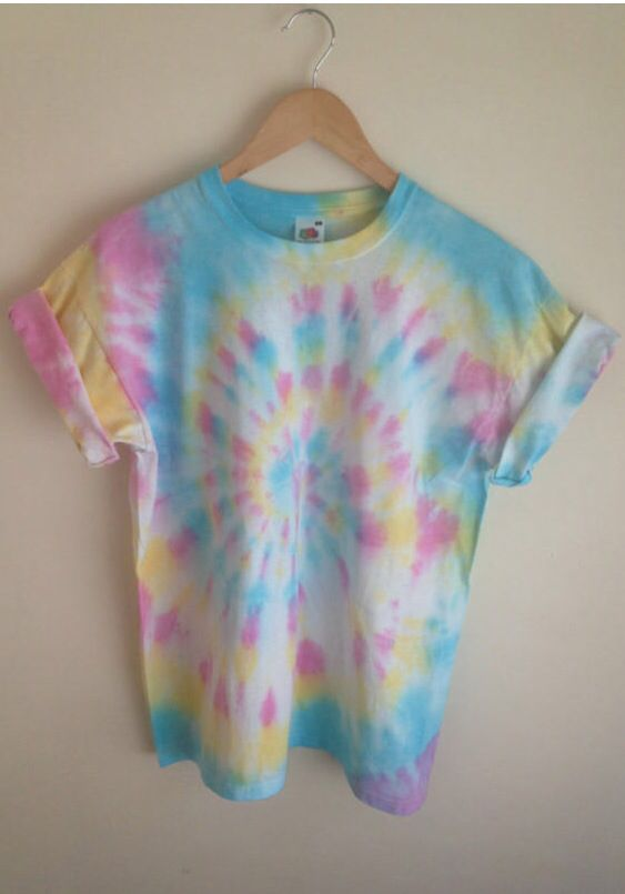 Love the colors / tie dye / pastel tie dye / light tie dye .