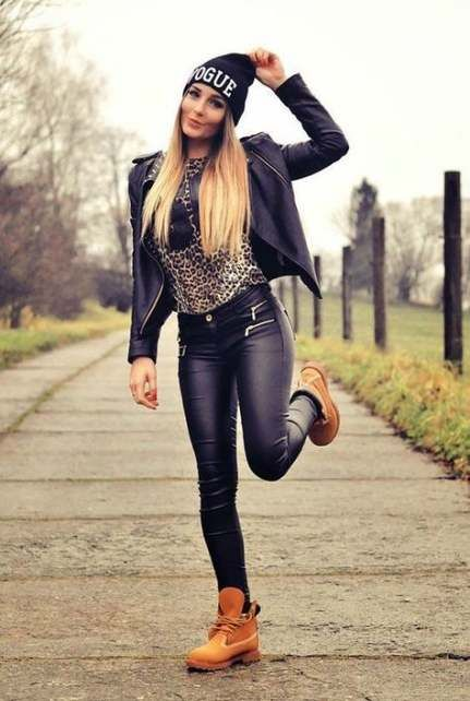 31 Ideas boots timberland women clothing #boots | Outfit botas .