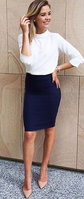 40+ Chic Outfit Ideas To Wear This Fall | Work wear women, Work .