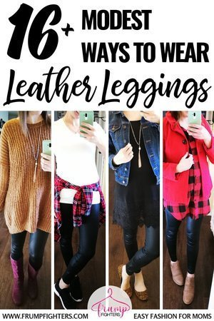 What to Wear with Leather Leggings in 2020: 14 Casual & Classy .