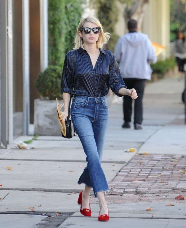 How to Wear Silk Shirt for Women: Top Outfit Ideas - FMag.c