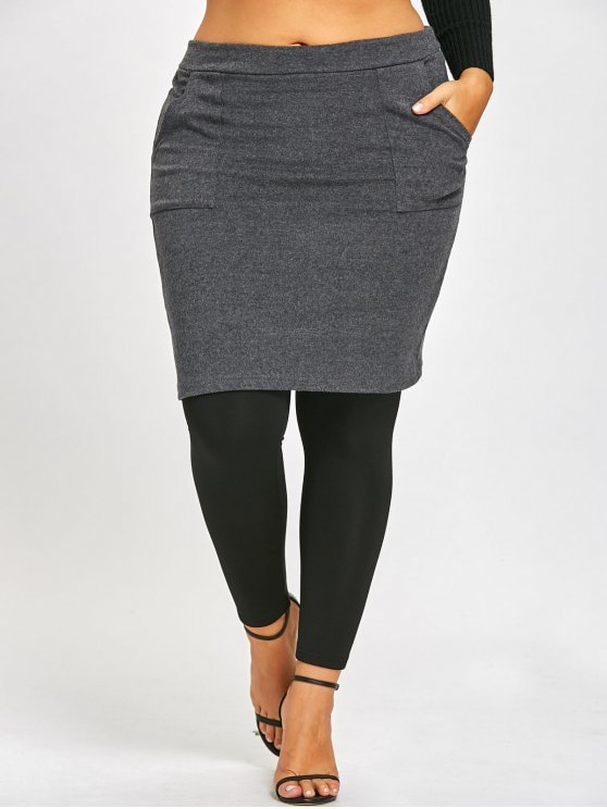 Top 13 Lovely Skirted Leggings Outfit Ideas for Ladies - FMag.c