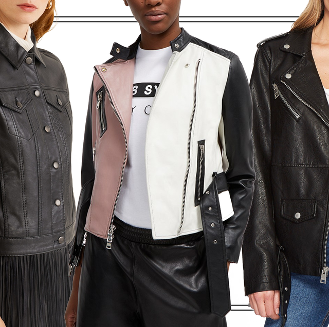 10 Leather Jacket Outfit Ideas for Women - How to Wear a Leather .