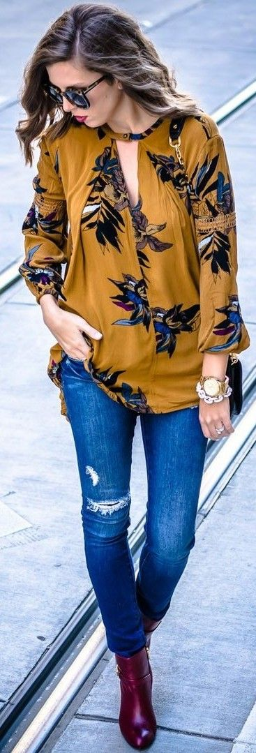 Casual and Dressy Tunic Tops for Everyday Wear - Outfit Ideas