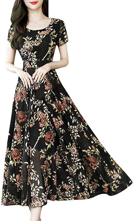 Amazon.com : Shakumy Women Casual Summer Sleeveless Halter Dress .