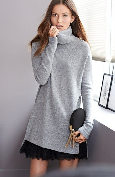 Joie 'Niamh' Turtleneck Tunic | Fashion, Clothes, Outfi