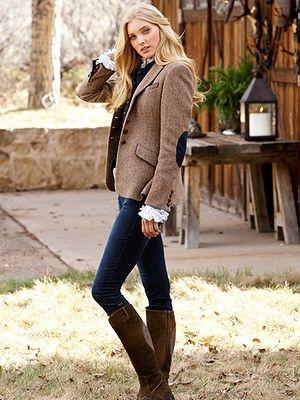lara harris tweed jacket - jackets - women - Gorsuch - would love .