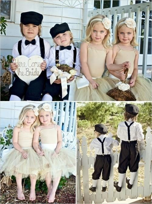Maybe we should have two ring bearers and two flower girls? (med .