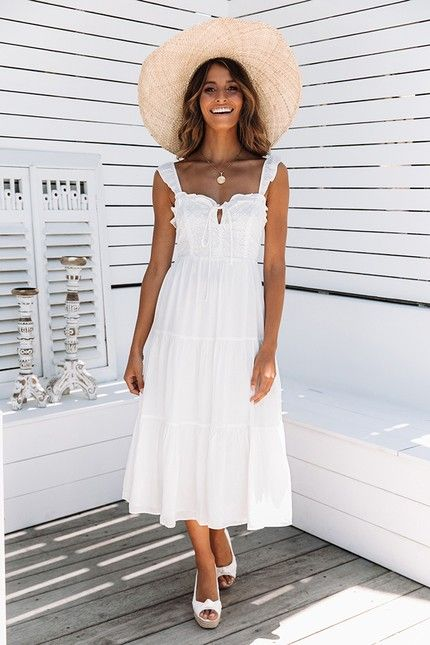 Spring & Summer Outfit Ideas | Summer cocktail dress, Dresses .