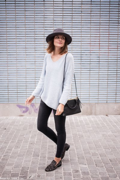Top 15 V Neck Jumper Outfit Ideas for Women: Style Guide - FMag.c