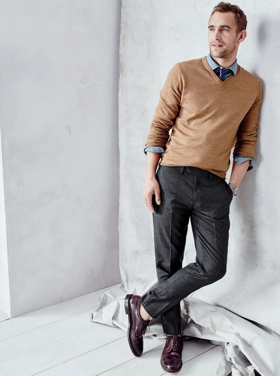 Little known ways to Buy A V Neck Sweater | Mens fashion sweaters .