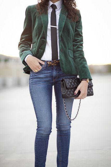 Green Velvet (With images) | Green velvet blazer, Green blazer .