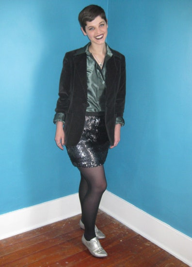 Daily Outfit Idea: The Cool Way to Wear Velvet, Sequins and .