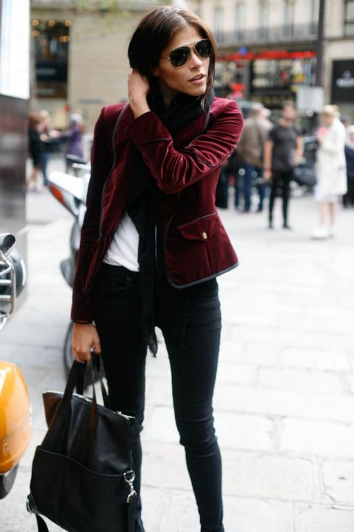love this outfit. velvet jacket | Style, Fashion, Velvet jacket outf