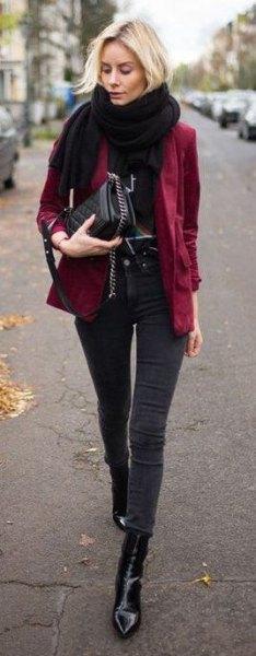 How to Wear Velvet Blazer for Women: Best Outfit Ideas - FMag.c