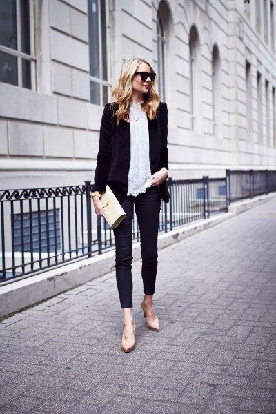 How to Wear Velvet Jeans: 13 Elegant Outfit Ideas for Women - FMag.c
