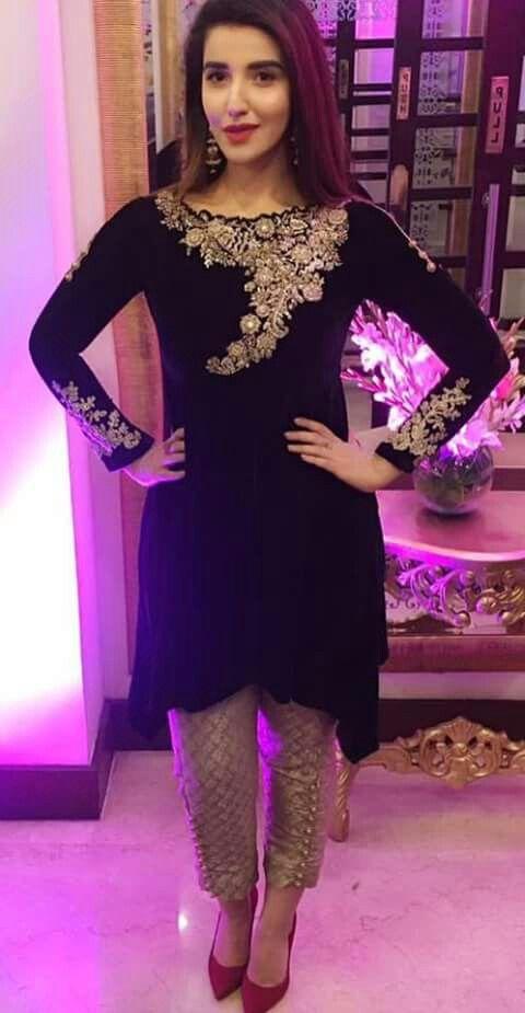 Hareem farooq | Velvet fashion, Pakistani outfits, Indian outfi