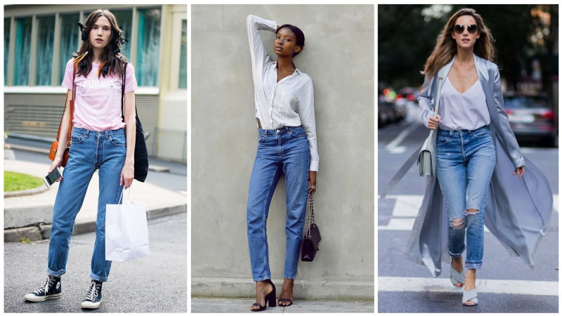 How to Wear High Waisted Jeans - The Trend Spott