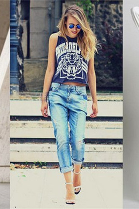 50 Fashion Women's Jeans Outfit Ideas – EKT
