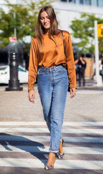 How to Wear Vintage Mom Jeans: Best 13 Old School Outfit Ideas for .